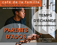 Temps d'échange parents d'ados